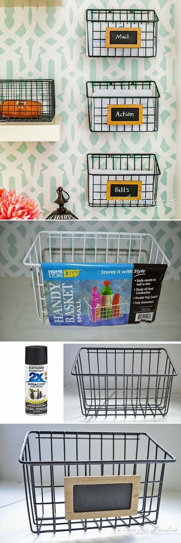 Wall Hanging Wire Baskets best 25+ wire basket storage ideas on pinterest | home decor