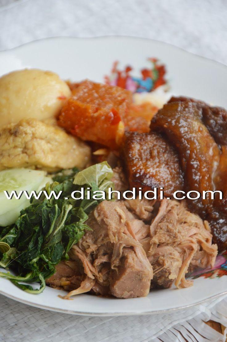Diah Didi's Kitchen: Gudeg Koyor Goreng Khas Semarangan