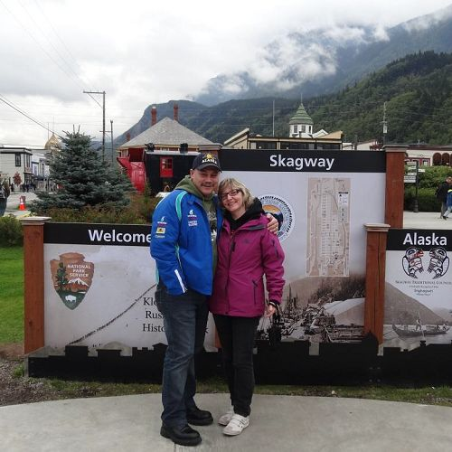 Andreas Wintsch, an IPC from Muotathal, Switzerland, said he had always  been intrigued with Alaska. So, when his personal sponsor Heidy Martin  told him about the Dream Vacation contest, which happened to be giving  away a free Alaskan cruise last June, he decided to enter.