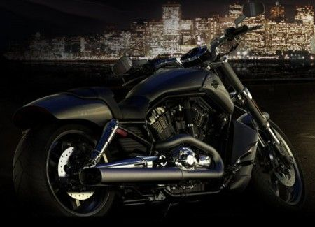 All-Black Harley V-Rod Muscle | harley davidson v rod muscle Harley Davidson V Rod Muscle