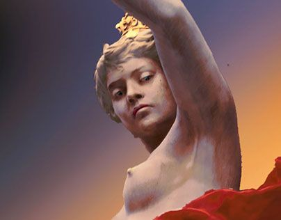 """Check out new work on my @Behance portfolio: """"Woman Sculpture"""" http://be.net/gallery/41380479/Woman-Sculpture"""