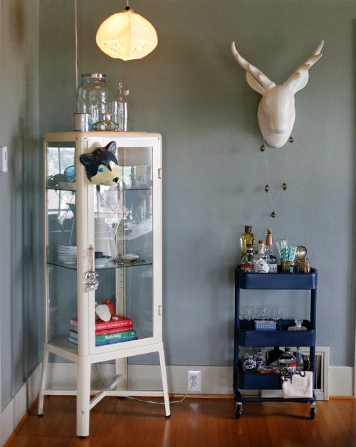 old medical cabinet from IKEA