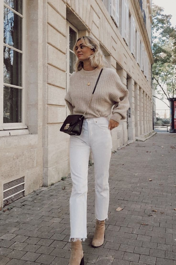 – lässiges Herbst-Outfit, Winter-Outfit, Stil, Outfit-Inspiration, tausendjährige Mode …
