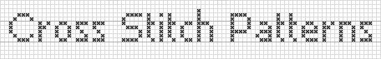 personalized cross stitch writing tool