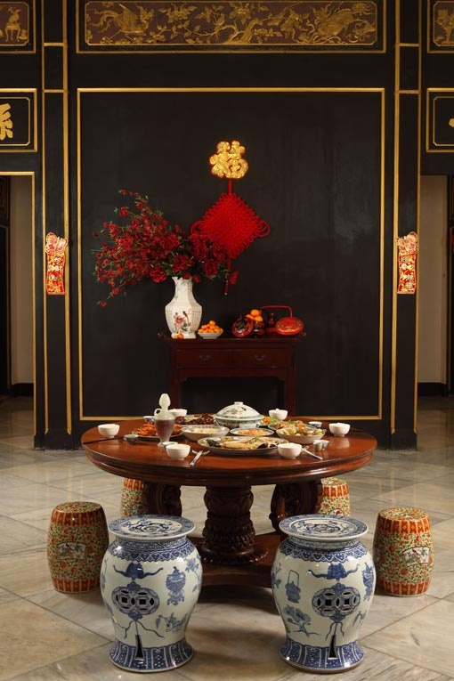 Traditional Chinese New Year Table Setting Inspiration