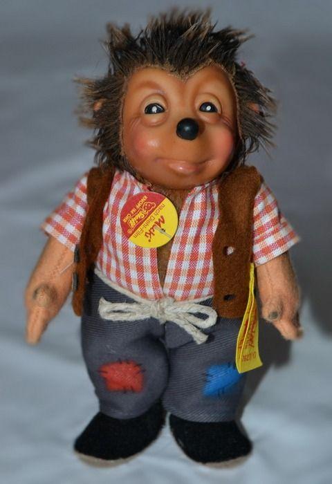 "Mecki Family Of Hedgehogs | Steiff ""Mecki"" hedgehog family, 4pcs.; - Toys auction - Sell or buy ..."