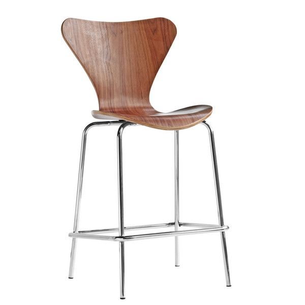 James Counter Stool Walnut