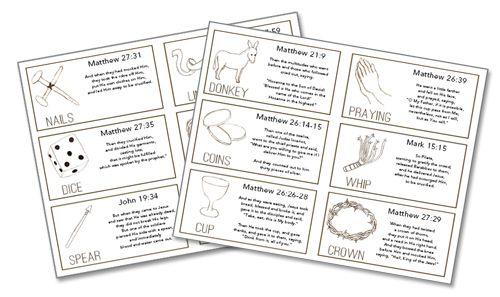 DIY Resurrection Eggs & storybook (printable)