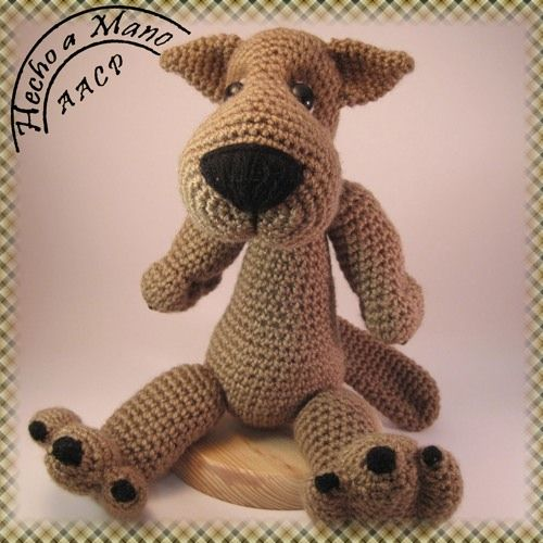 Lobo Amigurumi Tutorial : 22 Best images about Animales del bosque on Pinterest ...