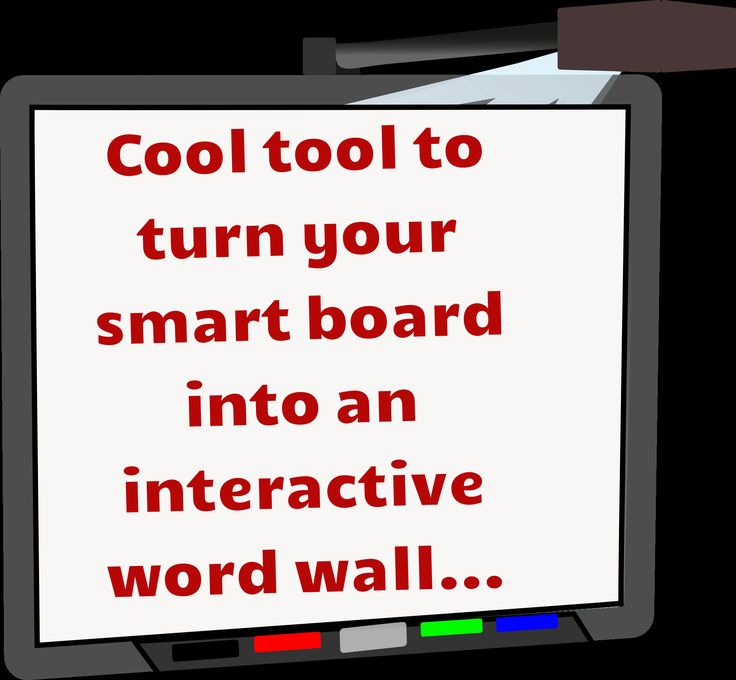 Cool tool to turn your smart board into an interactive word wall...