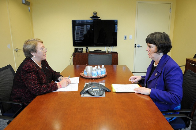 Zonta Internationa Presidet Lynn McKenzie and UN Women Executive Director Michelle Bachelet meets