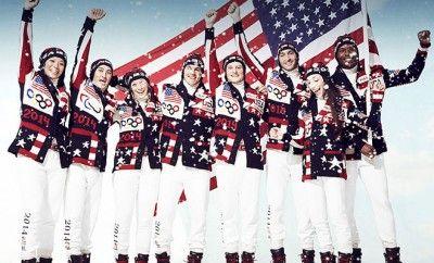 la team USA en tenue officielle pour les Jeux Olympiques de Sotchi 2014 par Ralph Lauren #peah #ralphlauren #sotchi #jo