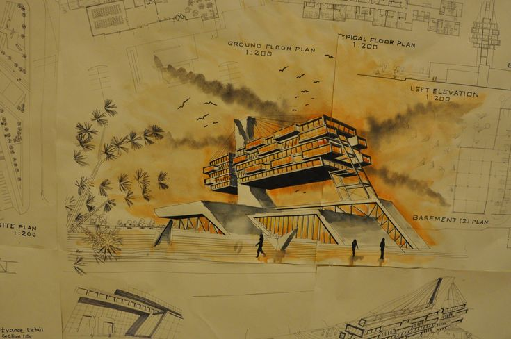 Drawing, Architecture Department / University of Sulaimani