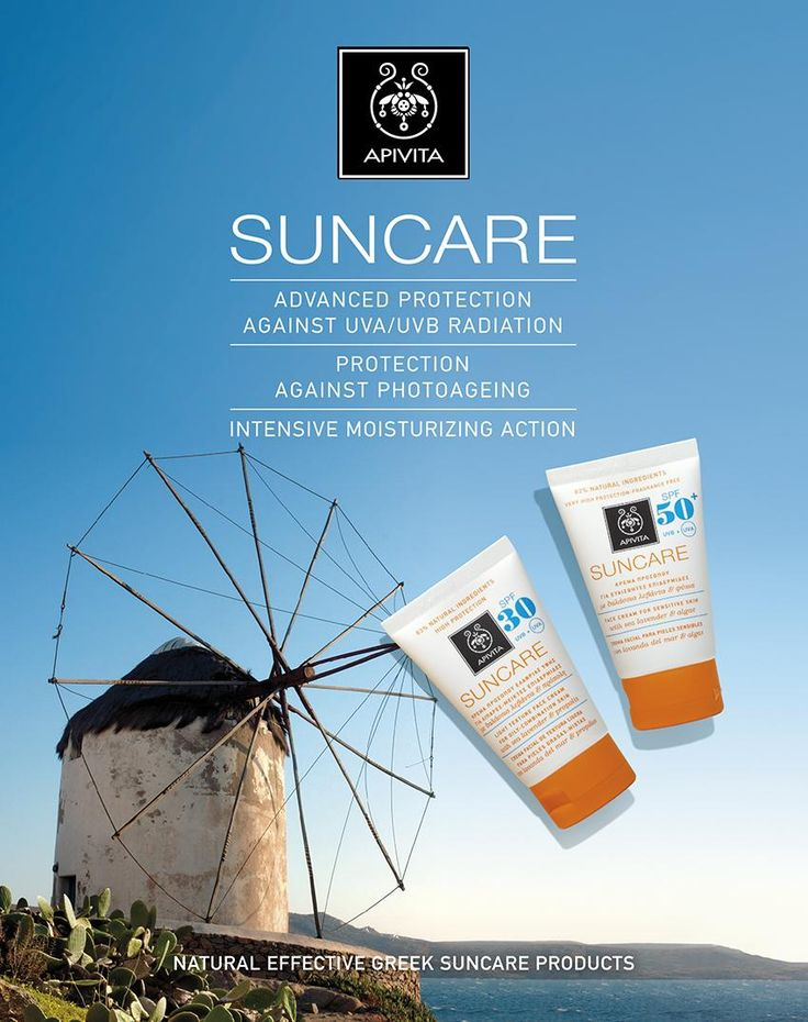 Bee… #summer ready with our suncare range! Each skin is unique and requires special sun protection. Taking into account each skin type's different needs, it is important to choose a specialized suncare face cream. The right product will offer comfort to your skin and will turn sun protection into an enjoyable treat. Identify your skin type and its specific features, and discover the suncare face cream that suits you most. #APIVITA # suncare