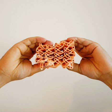 Royal College of Art (RCA) graduate Oluwaseyi Sosanya has created a loom that can weave in three dimensions and used it to create a shoe sol...