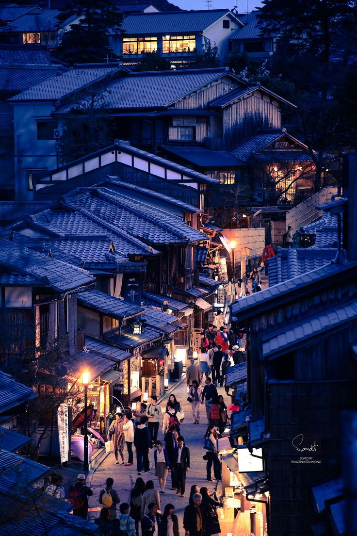 Kyoto - Japan - by Somchat Thavornvattanayong