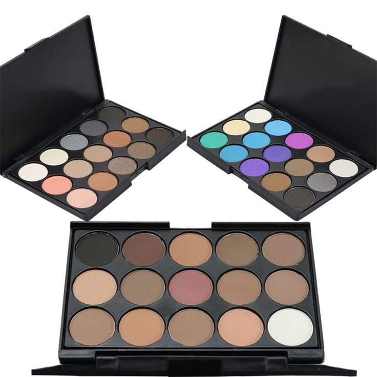 Ventas calientes 6 Colores de Larga Duración Nacarado Sombra de Ojos Paleta de Sombra de Ojos Set Maquillaje Profesional Cosméticos de Colores