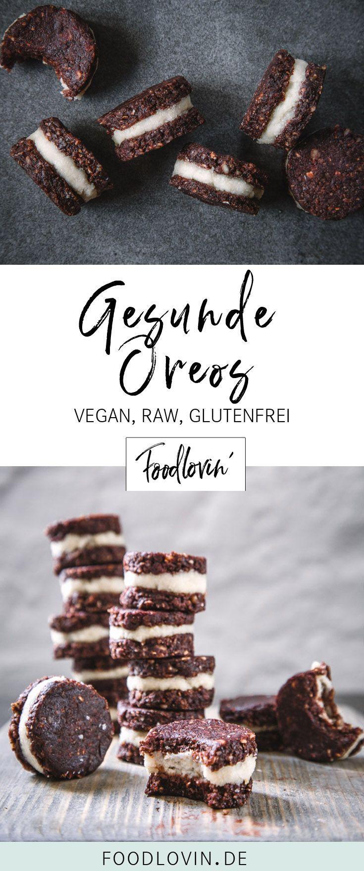 Rawreos – Vegan Healthy Oreos – Cookies