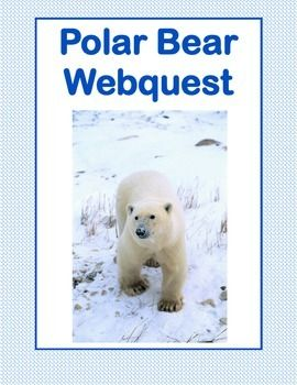 This is a web search designed to give students factual information about polar bears as they read for information using the internet. During the search they use a variety of strategies and skills that will prepare them to do research. Supports CCSS.ELA-Literacy.RI.4.1-6.1Here are some of my other animal webquestsThis is also included in a bundled offeringMarvelous Mammals!