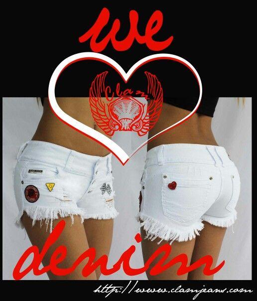 Short femenino ref 11562 disponible en clam jeans