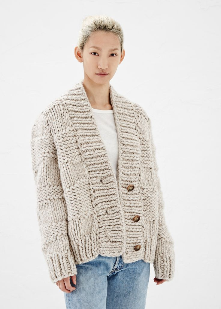 Knitting Pattern Chunky Wool Cardigan : Best 25+ Chunky knit cardigan ideas on Pinterest Chunky cardigan, Knit card...
