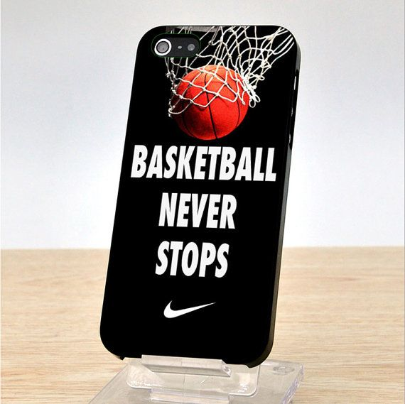 Basketball Iphone Wallpapers: Nike Basketball Never Stops IPhone Case Cover, IPhone 4