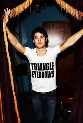 love him and his triangle eyebrows <3
