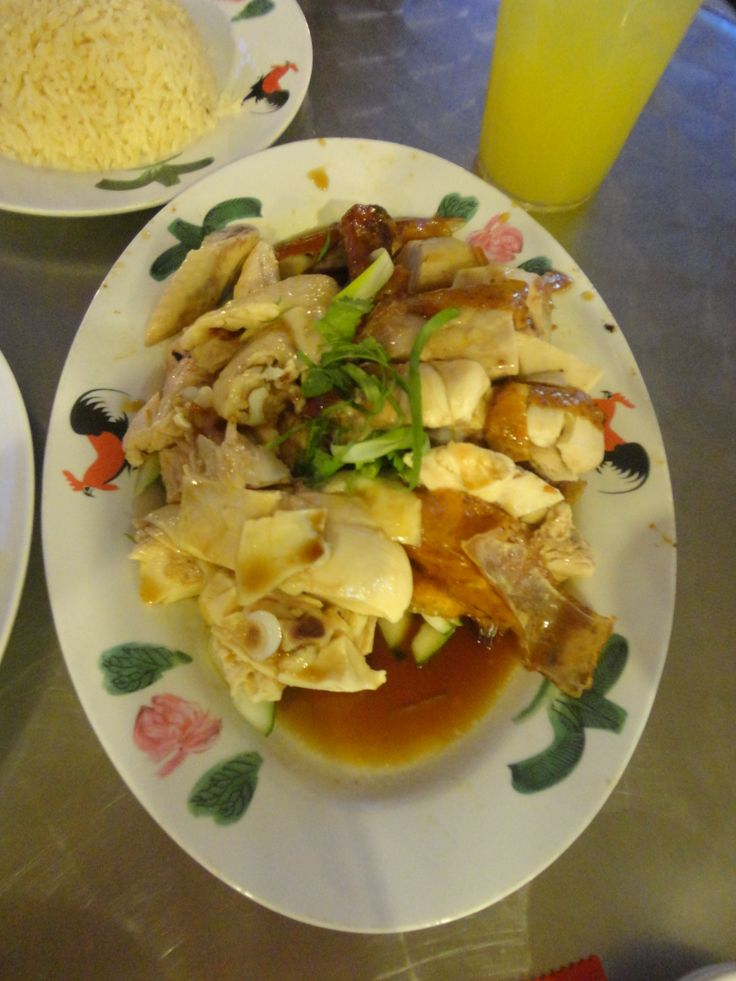 White & Roasted Chicken with Rice and Lime Juice @ Wee Num Kee, Novena