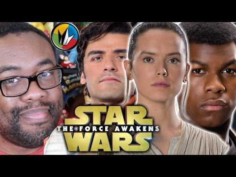 Get Star Wars: The Force Awakens tickets & showtimes http://regmovi.es/1Q0sbLq Catching Up with Andre brings you a superfan update on Star Wars: The Force Awakens! We catch you up on new trailers, new footage, new featurettes, posters, merchandise and some new fan theories! Andre dishes on new characters including Finn played by John Boyega) and Rey (played by Daisy Ridley) as well as some Star Wars veterans!
