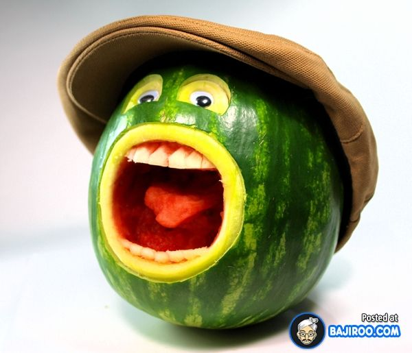 Funny Fruit Art You Should Try At Home (18 Photos)