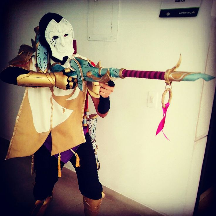 Cosplay jhin league of legends