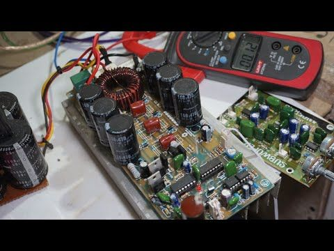 High Power Class-D Amplifier D4K5 in 2019 | Kit power | Class d