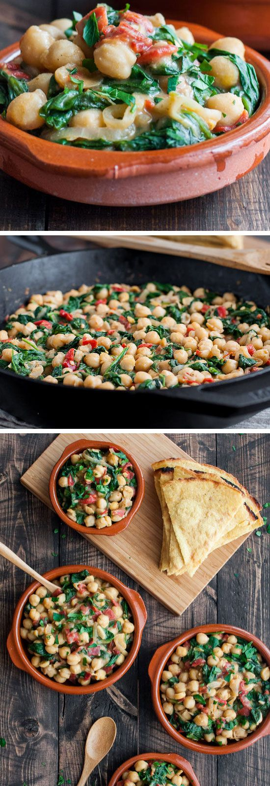 Skillet Chickpea and Roasted Pepper Dip | Click Pic for 22 Quick ...