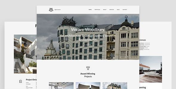 Woodbury Architects - Minimalist Portfolio Joomla Template for Architects . This template is a responsive and retina-ready Joomla template with grid system