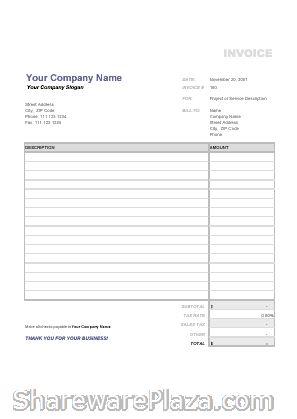 free invoices templates pdf downloads | invoice template in pdf, Invoice templates