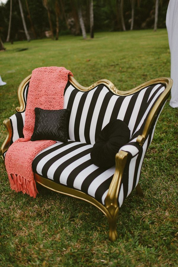 Stripes! Swooned: The Rainbow After the Storm: A Vibrant Garden-Inspired Bridal Shower in Miami, Florida