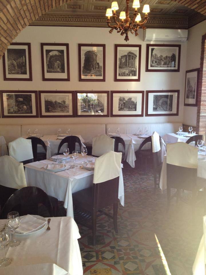 Sala dedicata a Luigi Rossini presso il Ristorante Sibilla a Tivoli