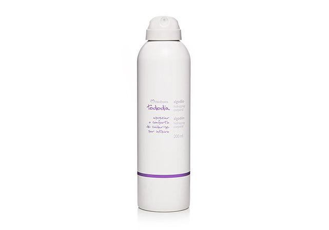 Seca em instantes, deixando a pele nutrida e hidratada por até 24 horas. - Shop Tododia