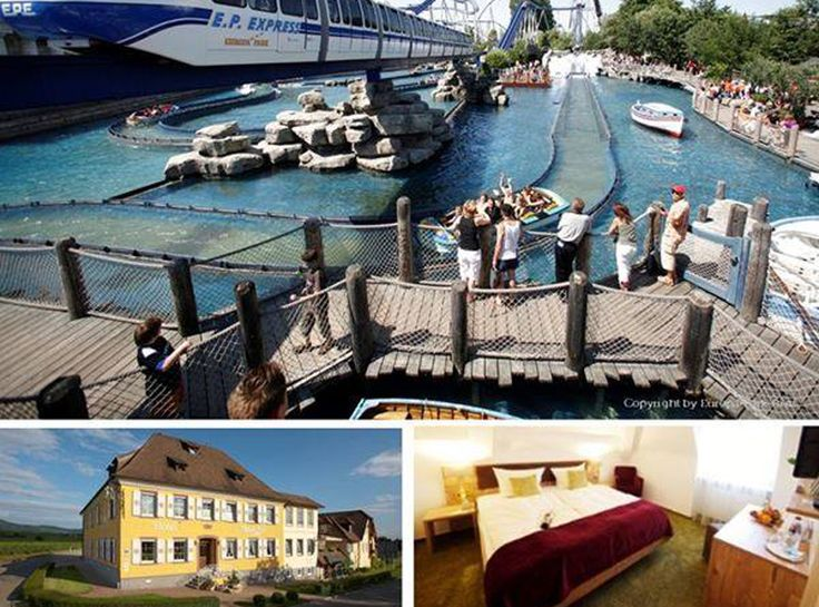 Passez des jours captivants en Allemagne et au Europapark !  Avec l'offre de voyage passez à deux 2 nuits à l'hôtel 3 étoiles Hotel Kreuz-Post à Burkheim. Le prix de 369.- comprend le petit-déjeuner, les entrées pour l' Europapark et 2 bons pour l'espace