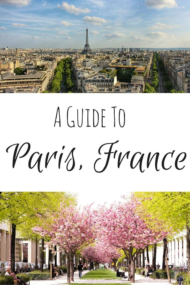a great guide to the beautiful paris france
