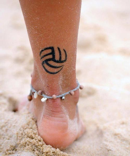 volleyball tattoo...... Man! I would so love to have a tattoo like that only softball not volleyball