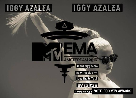 Check out my own @Iggy Azalea poster and #VoteIggyMTVEMA here