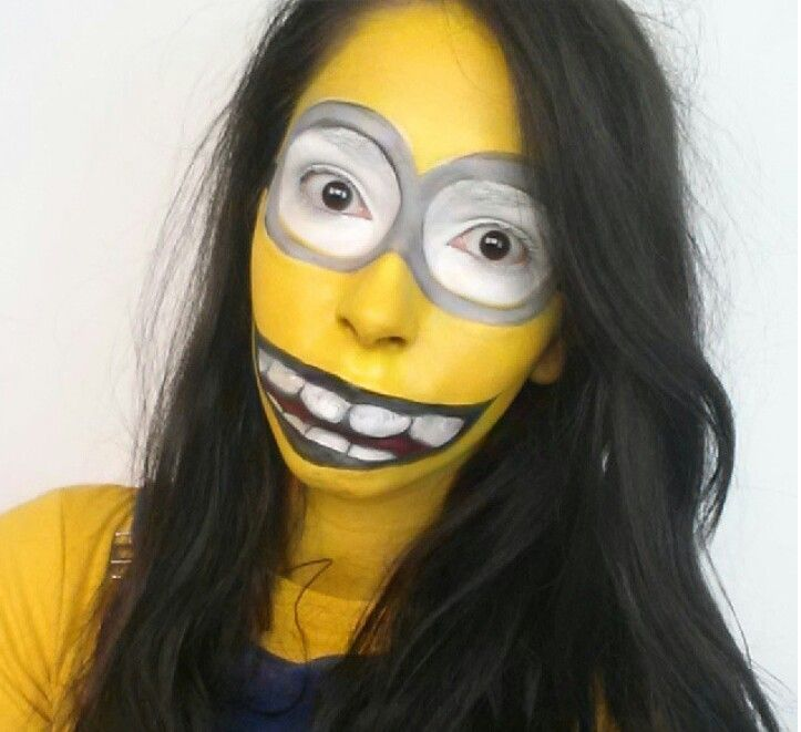 Minion Makeup Halloween