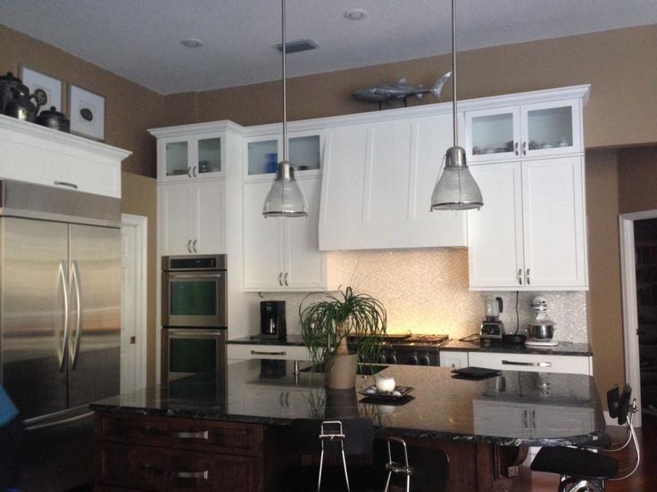 10 Foot Ceilings Kitchen Soffit Cabinets Google Search