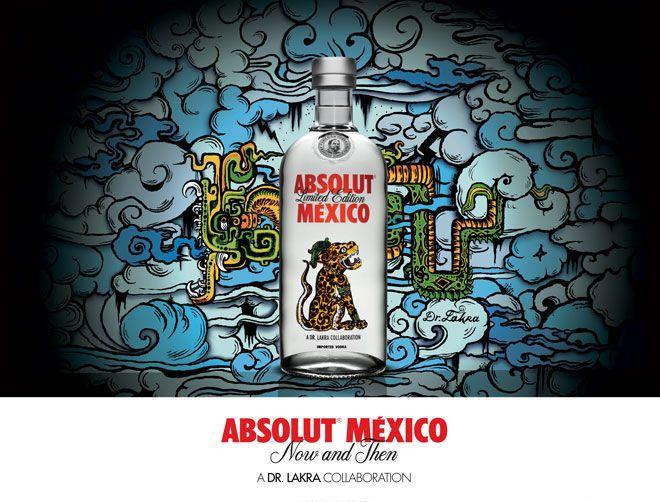 Botellas de edición limitada Absolut México