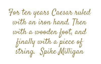 Spike Milligan via brainyquote
