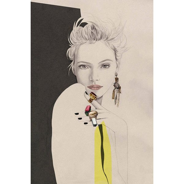 Cecilia Carlstedt W Magazine ❤ liked on Polyvore featuring art