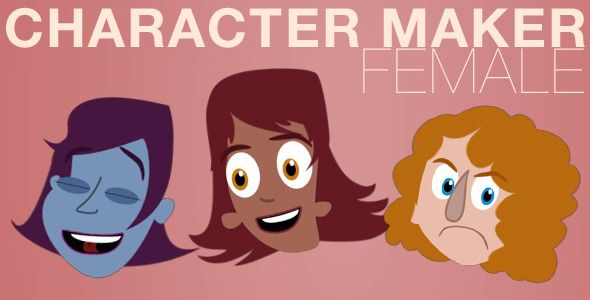 Character Maker - Female $25.00