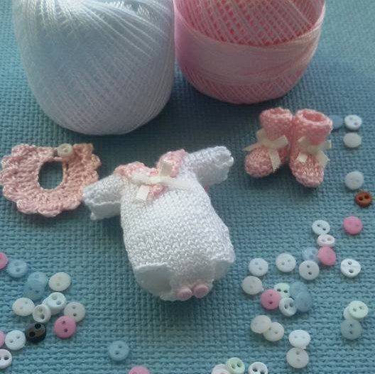 344 Best Miniature Knitting3 Images On Pinterest Baby Doll
