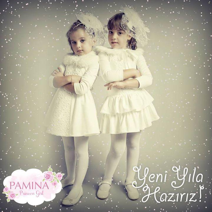 Pamina kızları yeni yıla hazır!  Pamina girls are ready for new year...  #yeniyıl #happynewyear #kids #fashionkids